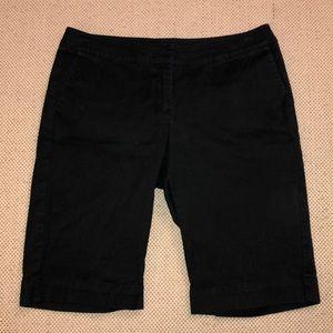 CAbi long black shorts